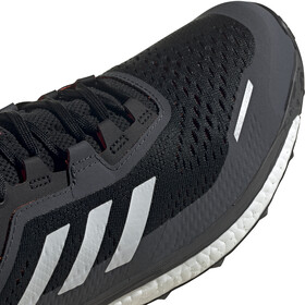 adidas TERREX Agravic Flow Trail Running Shoes Men core black/crystal white/solar red